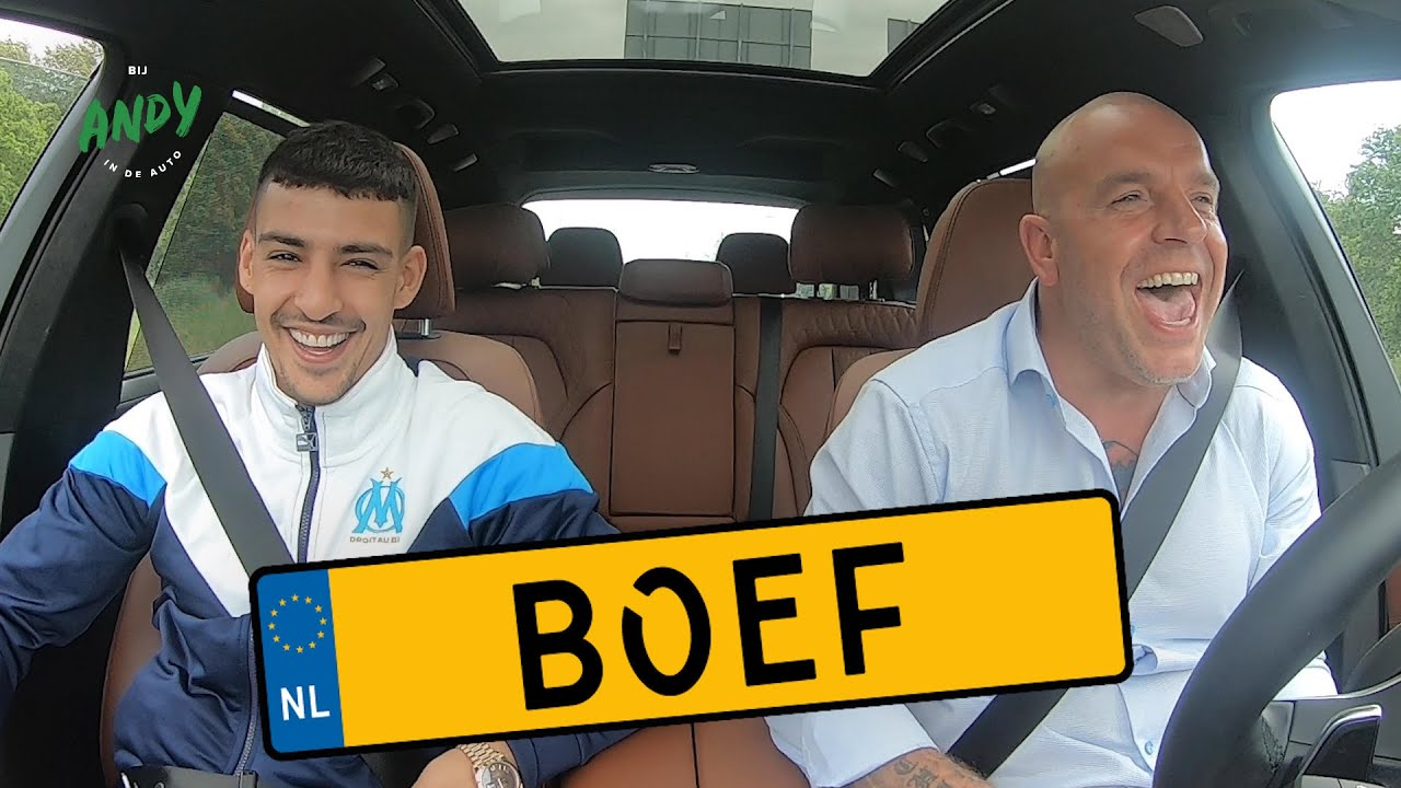 BOEF - Bij Andy in de auto! (English subtitles)