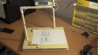 iPhone Arduino Scanner. ماسح باستخدام الآيفون والآردوينو