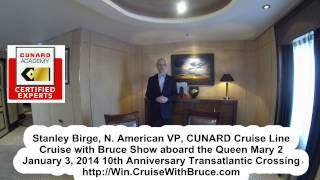 Cunard Cruise | Queen Mary 2 | Q1 Duplex Suite | Cruise With Bruce