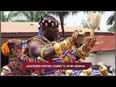 ASANTEHENES HISTORIC TO AKYEM ABUAKWA.