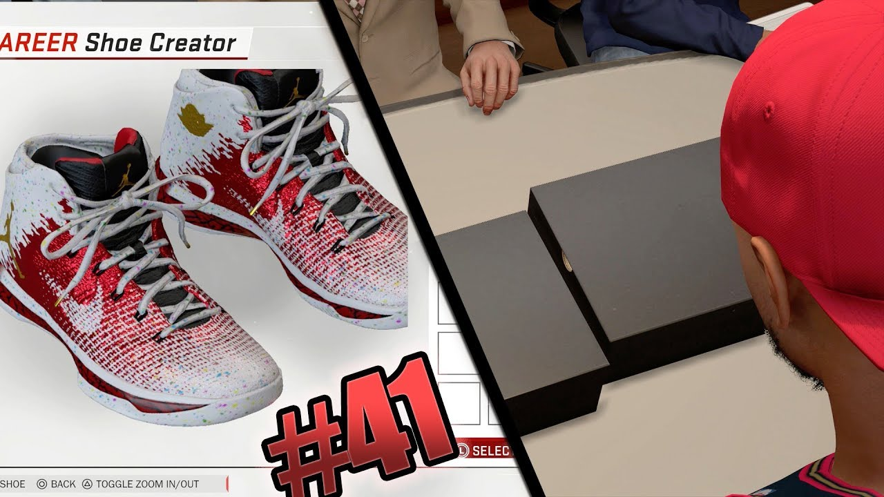 NBA 2k18 MyCAREER - Jordan Signature Color Way Creation! Ep. 41