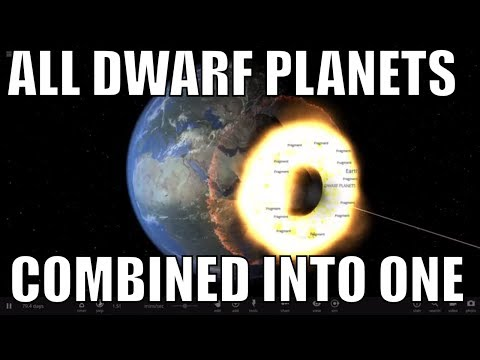 What If We Combined All Dwarf Planets In Our Solar System?