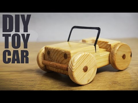 How to make a toy car at home - Wooden Toys Making