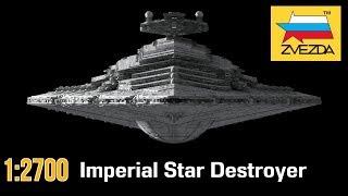 имперский Звездный Разрушитель :: 1/2700 :: Zvezda :: Распаковка, обзор