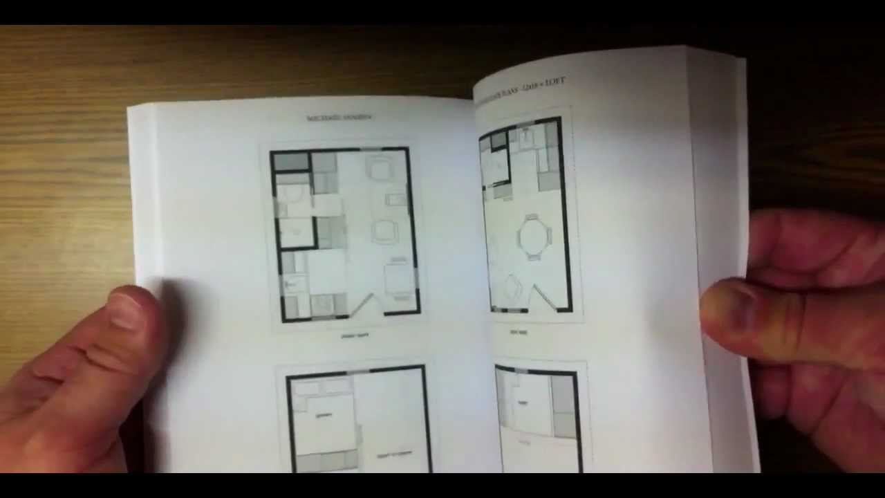 Book tiny house floor plans youtube for House floor plan books