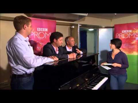 BBC Proms The King's Singers-Interview with Christopher ,Paul and David