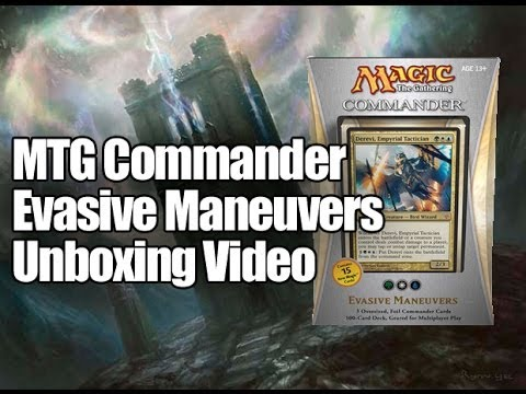 MTG Commander Deck 2013: Evasive Maneuvers Opening