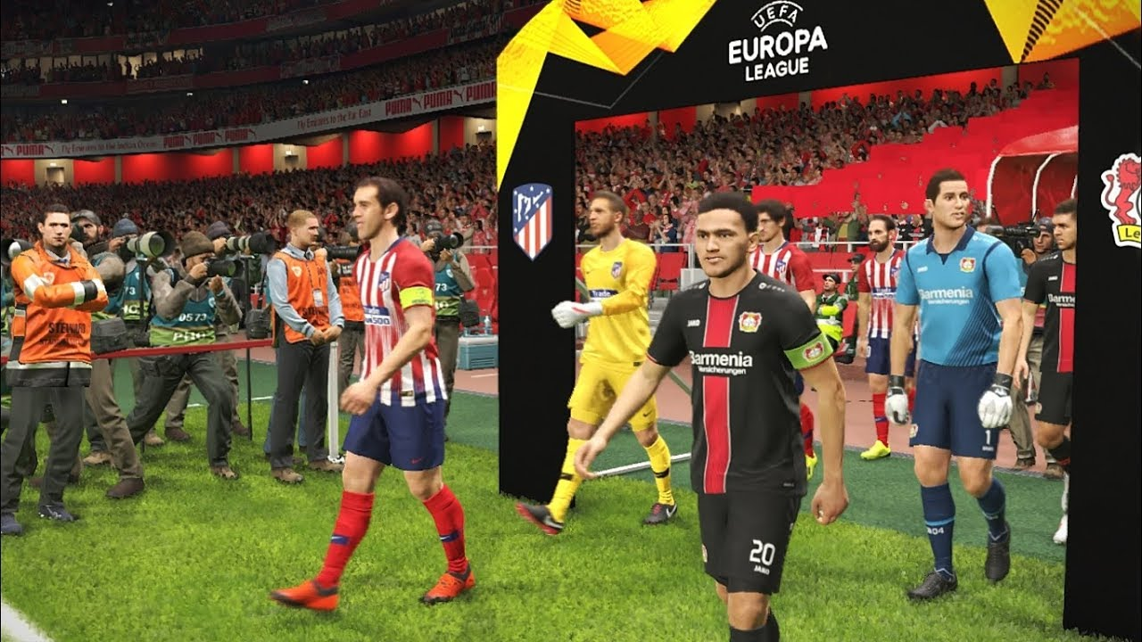 Europa League 2019 Detail: UEFA Europa League [Entrance, Scoreboards