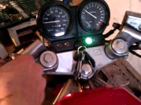 My Honda CB-1 and Honda Giorno cold-start +3°