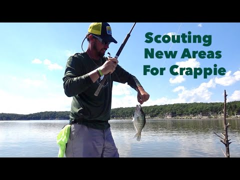 Scouting New Areas For Crappie