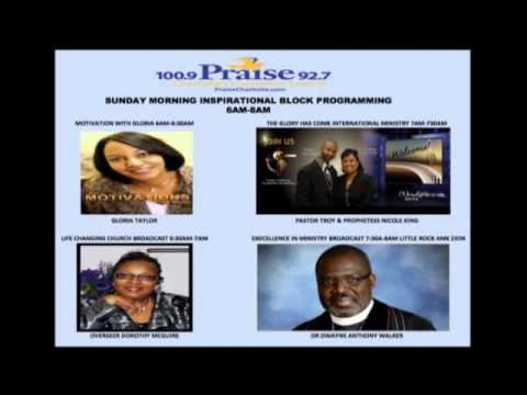"Charlotte Praise 100.9 & 92.7 FM ""PROMOTING"" Motivations with Gloria Radio Show"