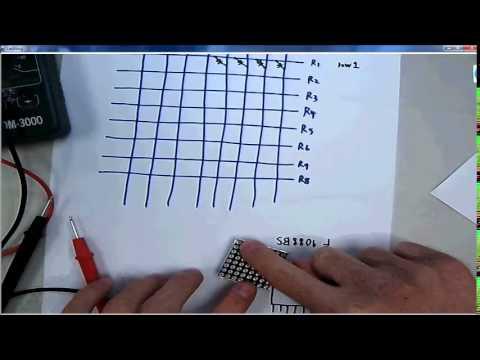 14-1. 2981和8x8 LED點矩陣的介紹