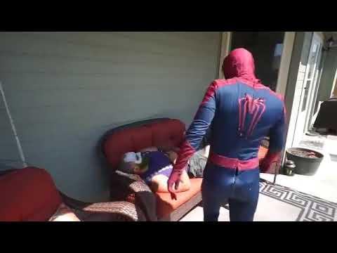Bearded Joker Vs. Spiderman In Real Life | Superhero Movie!