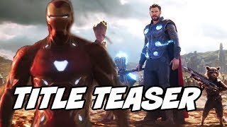 Avengers 4 Title Teased by Russos Brothers at Comic Con for Avengers 4
