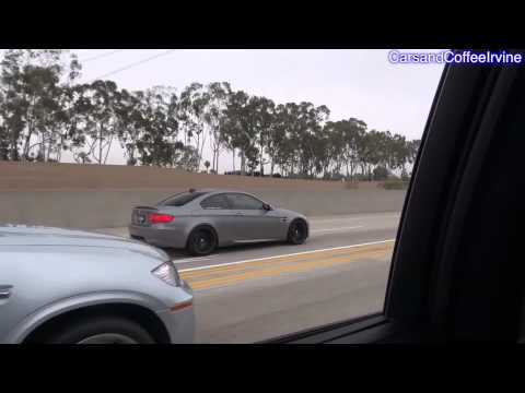///Madness! BMW Ms & Others Cruising On the Highway...