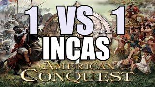 AMERICAN CONQUEST Gameplay Español | 1 vs CPU | INCAS