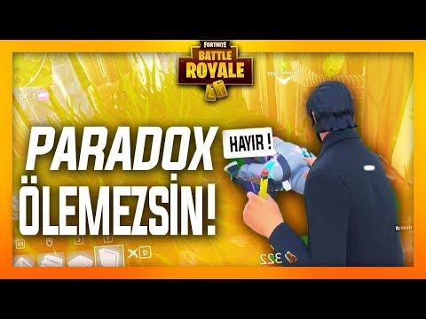 PARADOX ÖLEMEZSİN - (BENİ BIRAK FATİH ABİ !) Fortnite Battle Royale