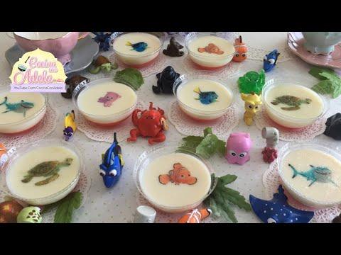 Como hacer una gelatina para fiestas infantiles