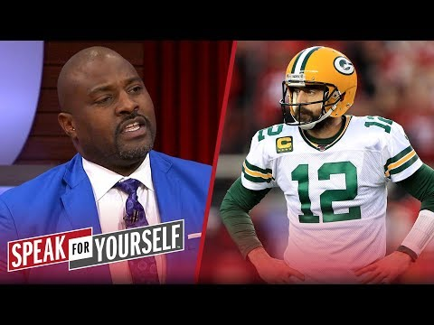 Marcellus Wiley doesn't think Aaron Rodgers' legacy took a hit on Sunday | NFL | SPEAK FOR YOURSELF