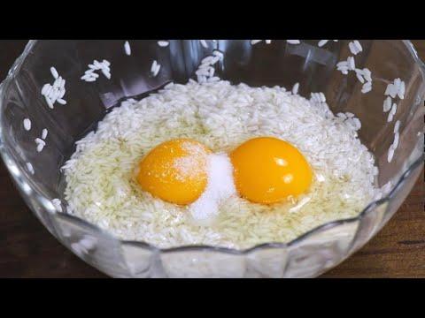 糯米早餐餅:最簡單快速,不揉麵不擀麵,筷子攪一攪,10分鐘搞定早餐【夏媽廚房】