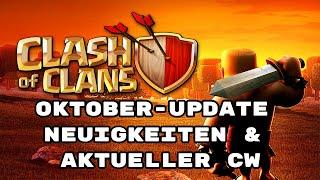 Clash of Clans - Oktober Update News & aktueller CW - deutsch