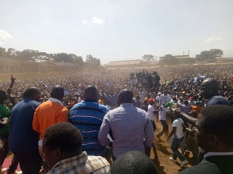 NASA leaders hold first rally after Raila Odinga 'swearing in' ceremony
