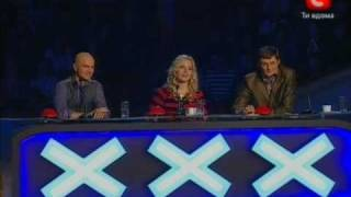 Даша Швецова - «Україна має талант!» - отборочный