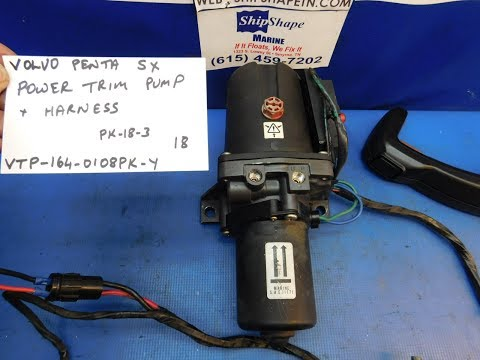 FOR SALE - Volvo Penta SX Power Trim Pump and Motor 3854030 $164.95 PK-18-3