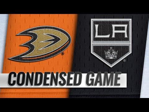 09/29/18 Condensed Game: Ducks @ Kings