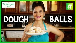 How-to Make Dough Ball With Cream Cheese Dip - Maria Goretti