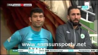 Giresunspor 0-2 Samsunspor | M'Billanın sakatlandığı pozisyon ve Penaltı Golü!
