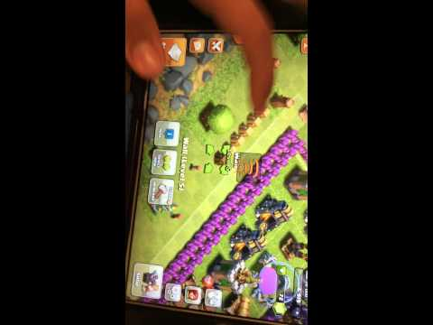 Clash of clans - wall GLITCH (part 3) THE LAST PART
