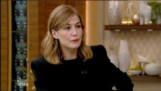 Interview: Rosamund Pike at Live with Kelly and Ryan