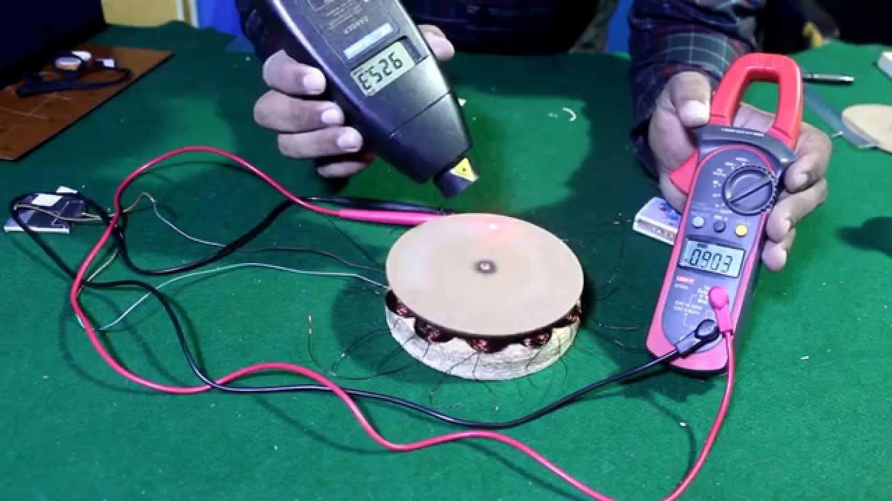 How to Make AC generator \