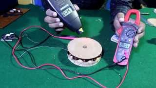 "Video How to Make AC generator ""Permanent magnet alternator"" from Hard disk magnets (English subtitle) download MP3, 3GP, MP4, WEBM, AVI, FLV Februari 2018"