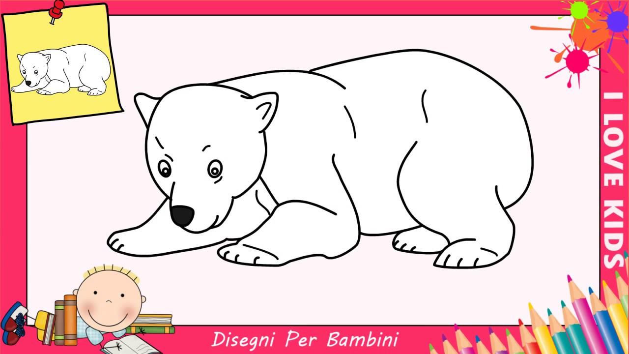 Come disegnare un orso facile passo per passo per bambini for Conigli facili da disegnare