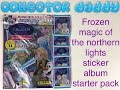 Disney Frozen magic of the northern lights panini sticker collection starter pack