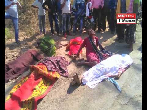 Truck Accident In Koksara, Kalahandi District: Metro TV Bureau