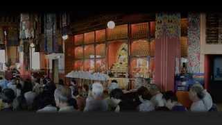 Amithaba Tsok Puja in Montchardon for Shamar Rinpoche - June 14, 2014