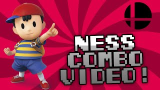 Ness Combo Video - Smash Bros 3DS