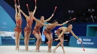 Bulgaria 10 clubs Final - European Championships Baku 2014