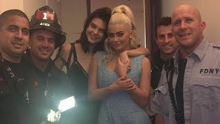 Kendall And Kylie Jenner Get Rescued By FDNY After Getting Stuck In Elevator