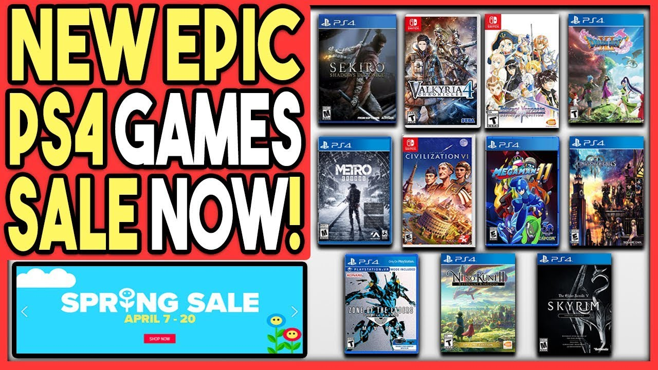 EPIC NEW PS4 GAMES SPRING SALE - GREAT PS4 GAME DEALS ...