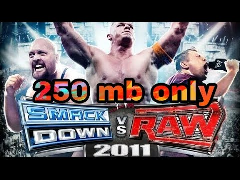 How To Download 250 Mb WWE SmackDown Vs Raw 2011 Highly Compressed In Android