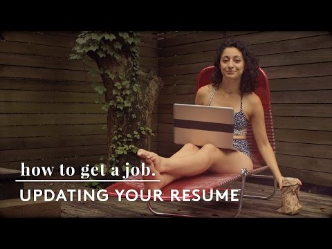 How To Update Your Resume | How To Get A Job
