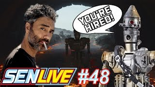 Here Are The Reasons Why Taika Waititi Doing a Star Wars Film Can Save The Franchise! - SEN LIVE #48