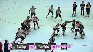 2018 WFTDA NA-East Continental Cup Game 8: Blue Ridge Rollergirls vs Team United