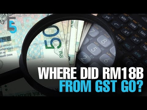 EVENING 5: Some RM18 bil missing from GST fund
