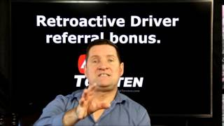How to get your retroactive driver referral bonus. Do not miss out on this money from Uber and Lyft