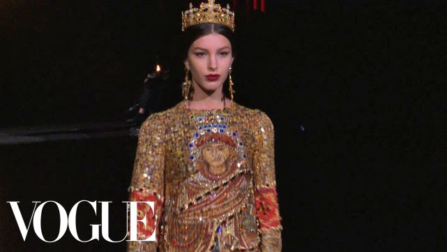 Fashion Show - Fall 2013 Ready-to-Wear  Dolce   Gabbana - YouTube 75cb8434eeadc